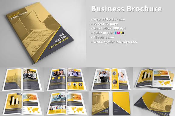 InDesign Corporate Business Brochure