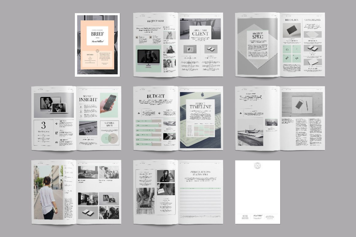 vistaprint brochure template - kingsley brief template brochure templates on creative