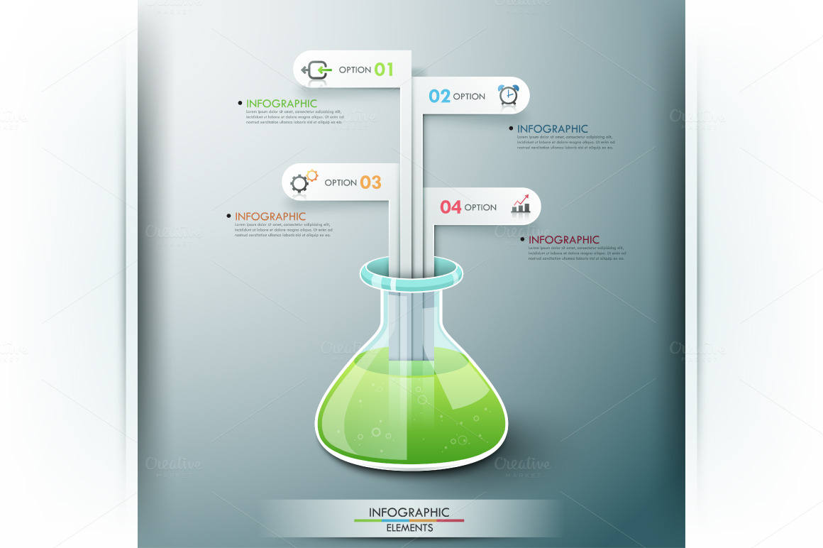 Chemistry infographic template presentation templates on for Liquid template filters