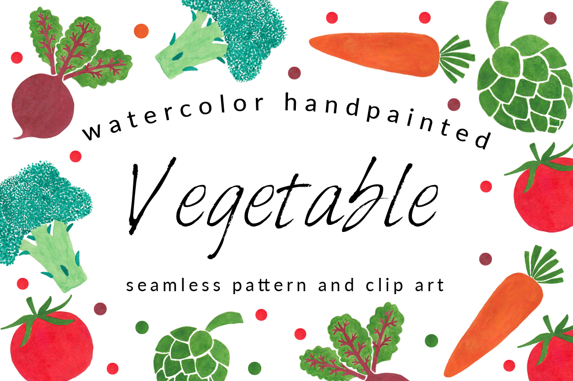 Vegetable pattern - photo#9