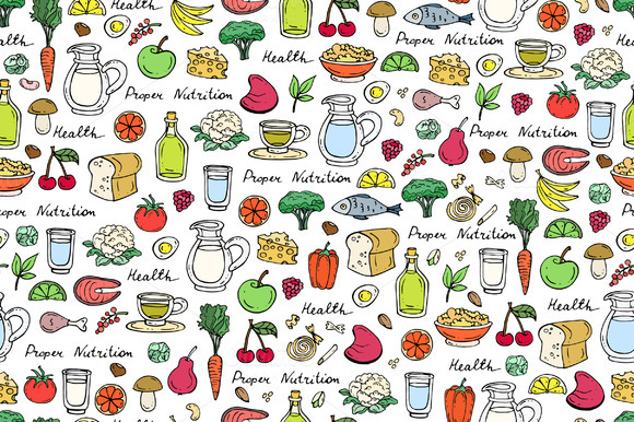 Pattern With Proper Nutrition