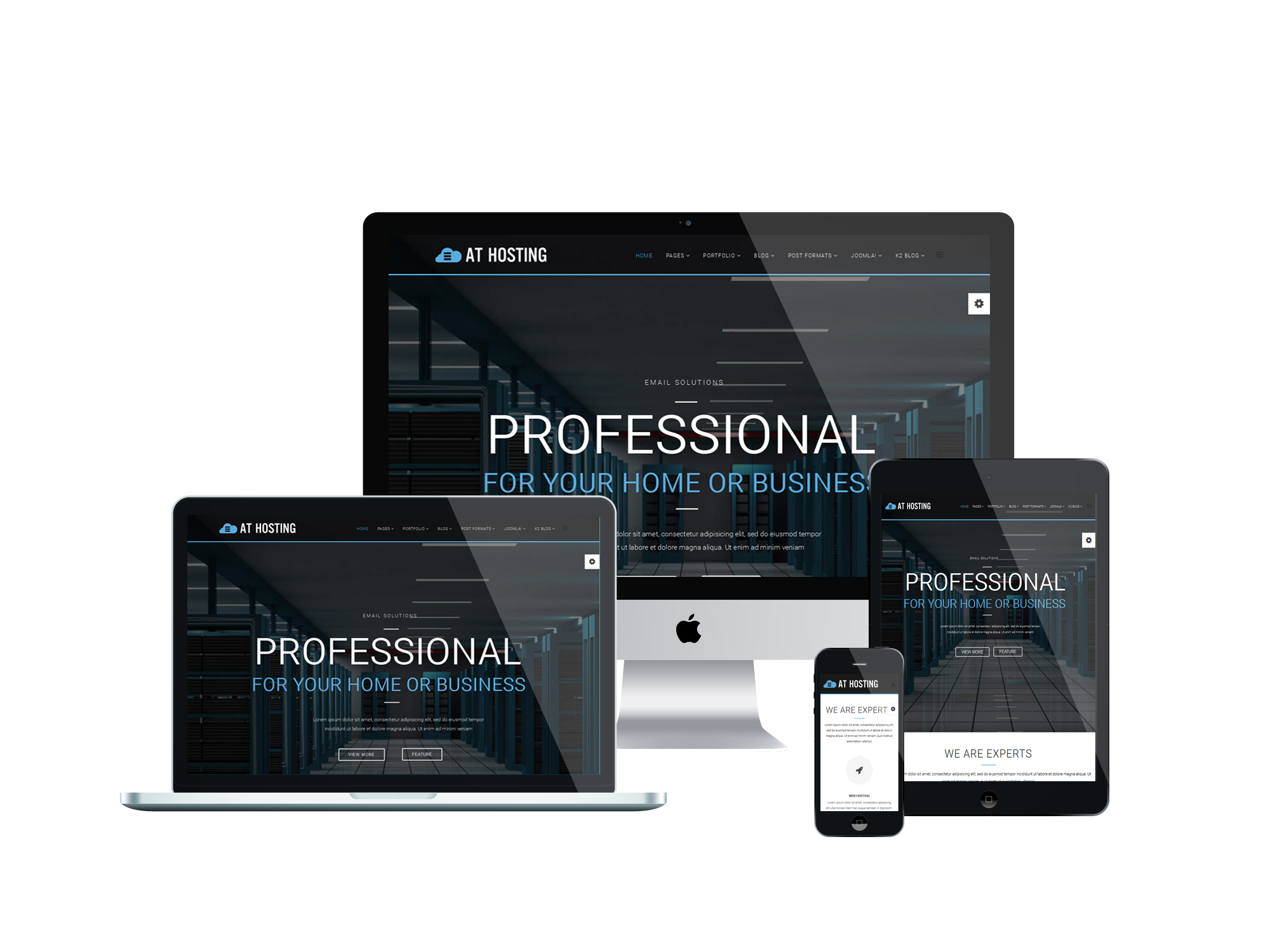 Joomla Luxury Templates at Hosting Joomla Template