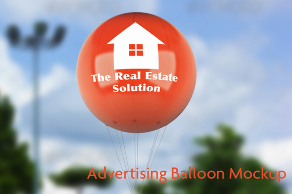 Advertising Balloon Mock-Up