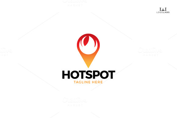 Color Spot Logo by LiveAtTheBBQ | GraphicRiver