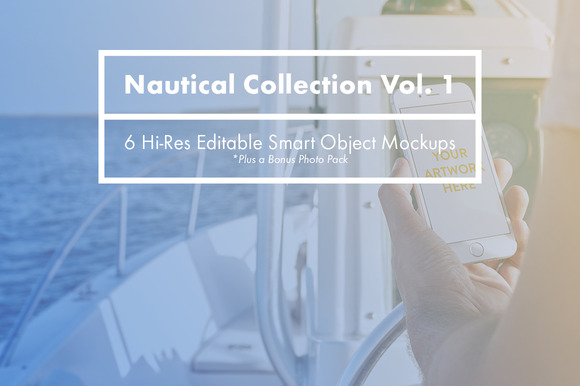 Nautical Devices Collection Vol. 1 - Product Mockups