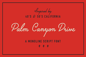Palm Canyon Drive (Plus Extras!)