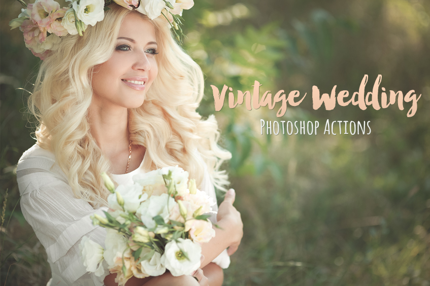 Photoshop actions for wedding