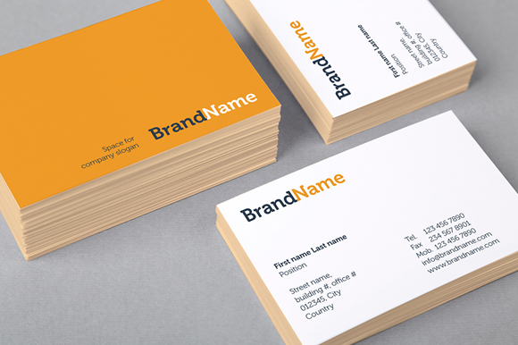 Business cards mock ups templates product mockups on for Ups business cards templates