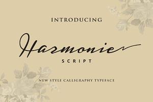 Harmonie Script (Intro 25% off)