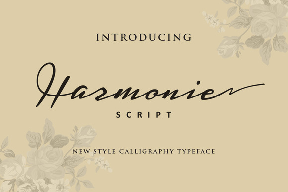 Harmonie Script Font by ianmikraz