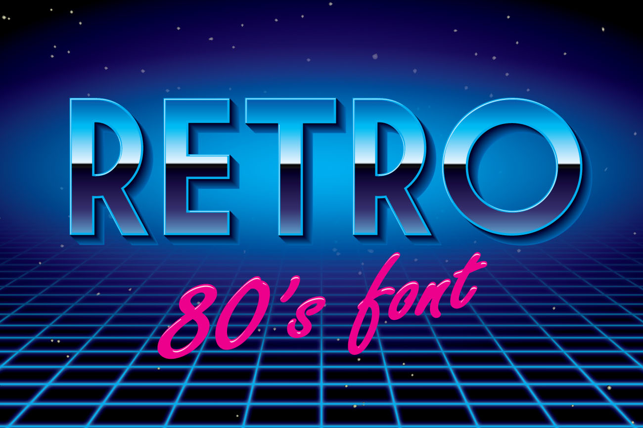 Retro Disco Font Display Fonts On Creative Market