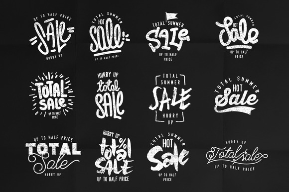 Sale Style Logo Vol.1 - Objects