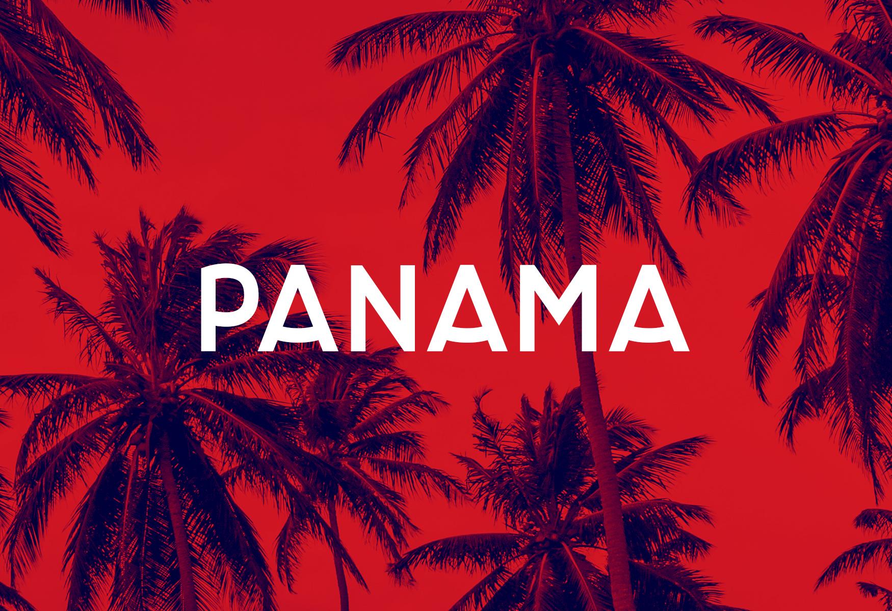 Panama Bold font