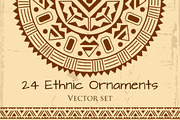 Ethnic Ornament Pack-Graphicriver中文最全的素材分享平台