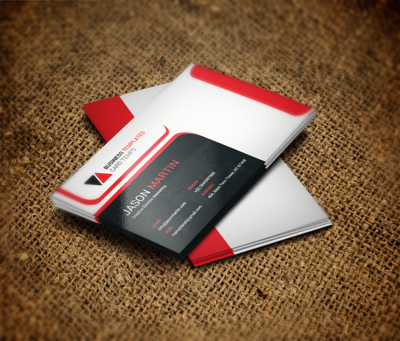 ms office business card