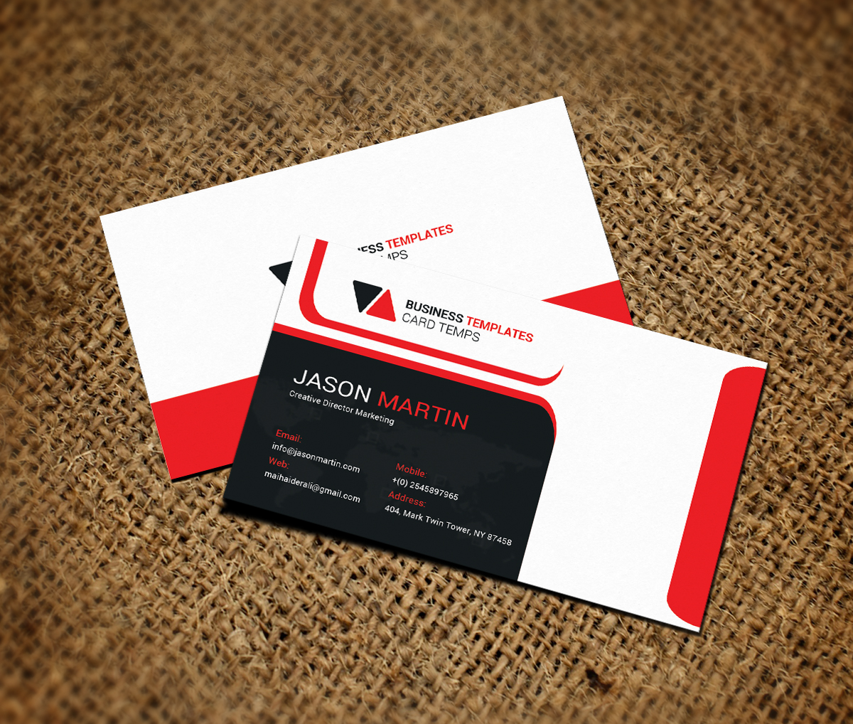fice Business Card Template Business Card Templates on