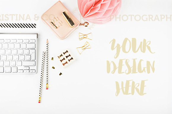 Office mockup. Style photo - Product Mockups