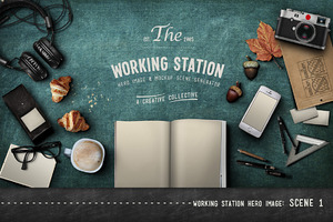 Working Station Hero Image