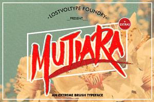 Mutiara Typeface + Extras