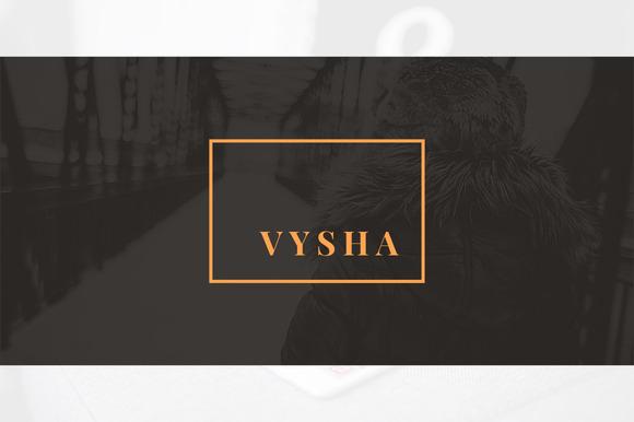Vysha PowerPoint Template - Presentations - 1