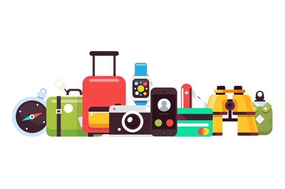 Travel Pack v.1 - Icons