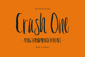 Crash One Typeface