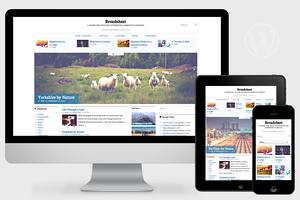 Broadsheet - Newspaper Theme