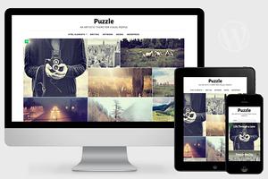 Puzzle - Responsive WordPress Theme