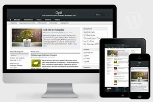 Opti - Responsive WordPress Theme