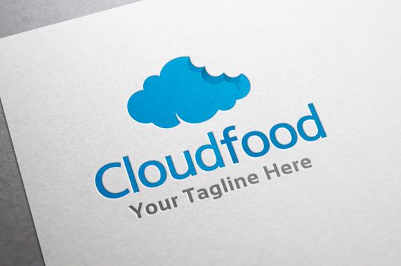 Cloud Food Logo Template