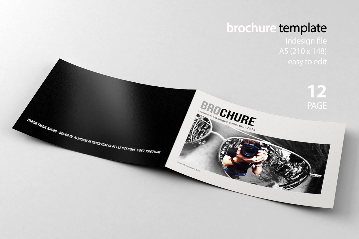 Indesign brochure brochure templates on creative market for Brochure templates for indesign