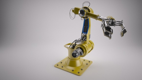 Industrial Robot Arm [Rigged]