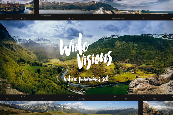 Wide Visions Landscape Panoramas