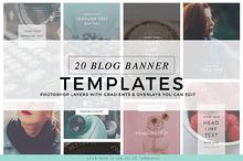Blog Instagram Pinterest Banners 1