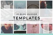Blog Instagram Pinterest Ba-Graphicriver中文最全的素材分享平台