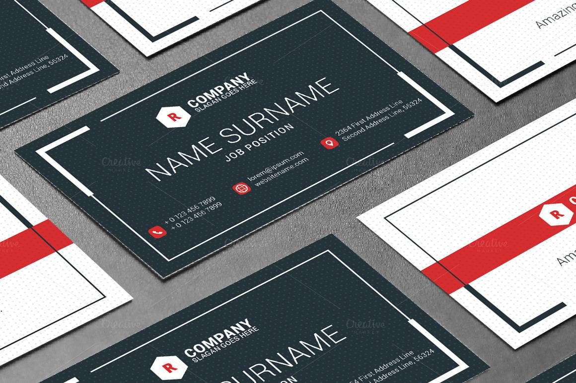Creative Business Card Template ~ Business Card Templates ...