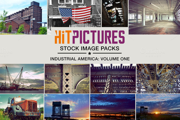 Industrial America Photo Pack Vol. 1 - Objects