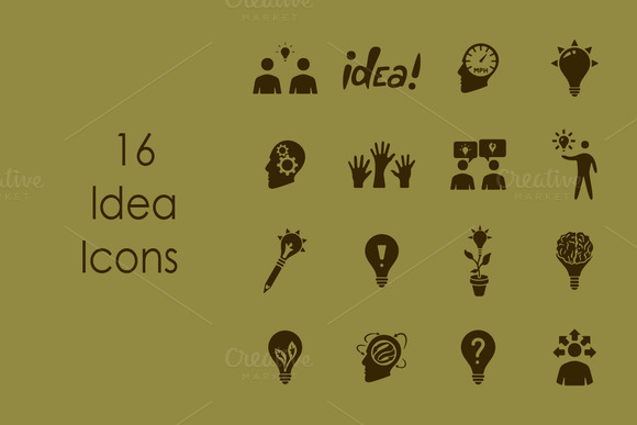 16 IDEA Simple Icons
