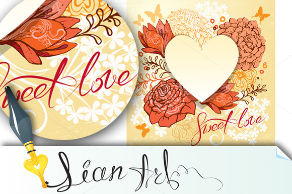 Retro Background Or Greeting Card