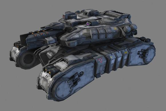 SciFi Medium Tank - MK2