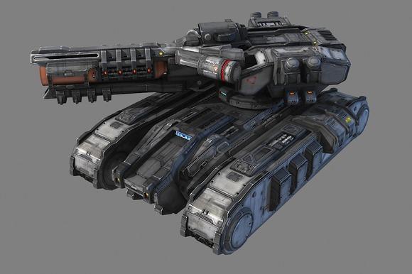 SciFi Heavy Tank - MK4
