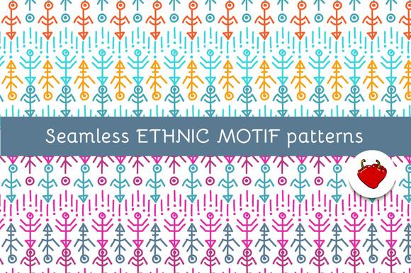 Ethnic motif. Seamless pattern - Patterns