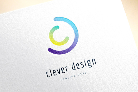 Abstract Vector Logo Elements
