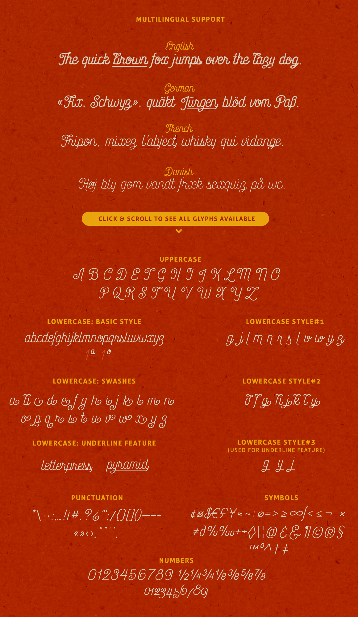 Catfish Monoline Script