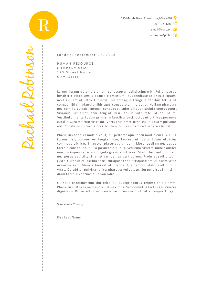 stylish script 2 in 1 word resume resume templates on