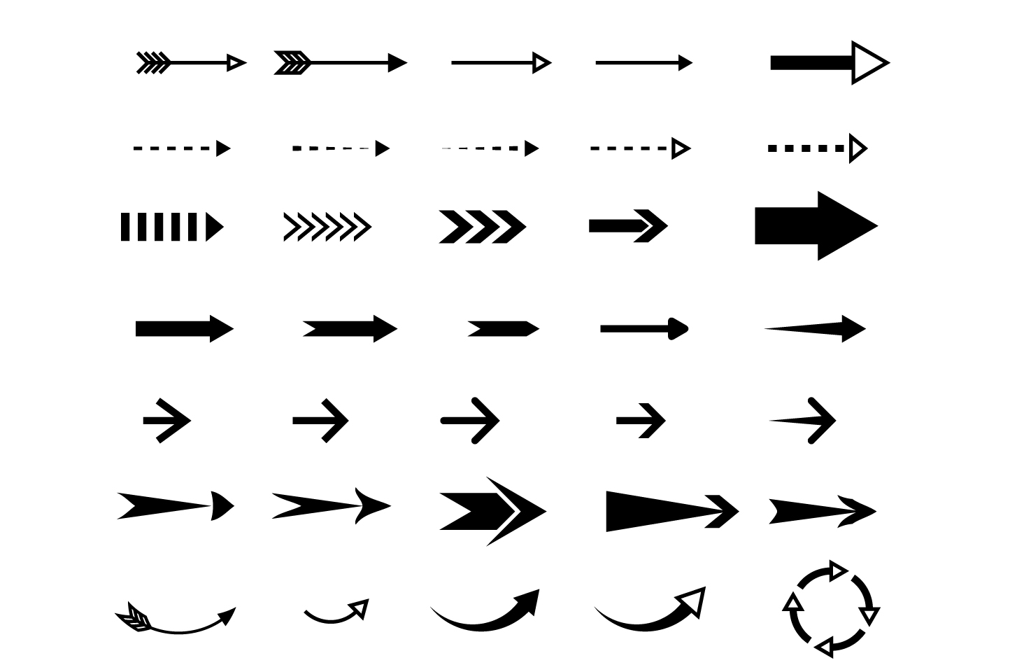 Arrows ~ Web Elements on Creative Market