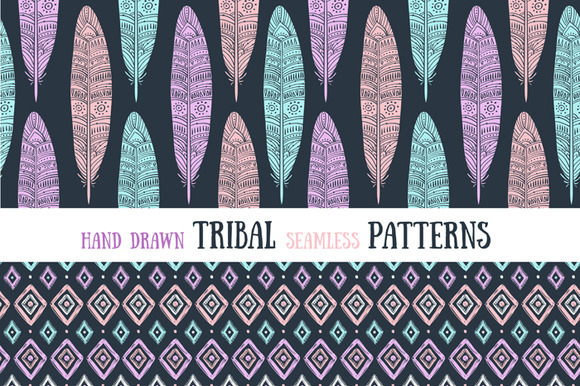 Ethnic collection. Tribal patterns. - Patterns