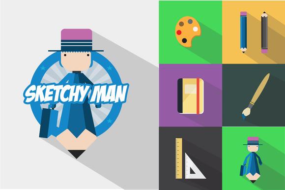 The Sketchy Man