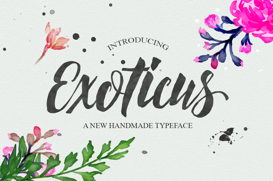 Exoticus Font Download