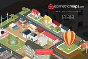Isometric City Maps Builder-Graphicriver中文最全的素材分享平台